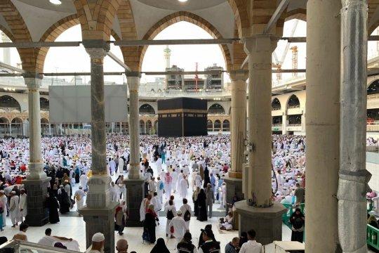 Saat terpisah dari rombongan di Masjidil Haram, ini tips dari PPIH