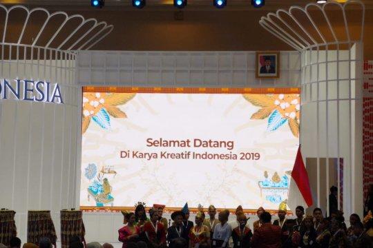 Presiden buka pameran Karya Kreatif Indonesia 2019