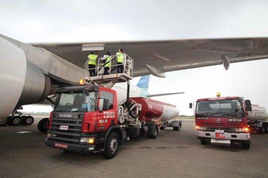 Pertamina tambah 6,8 juta liter avtur penerbangan haji BIM