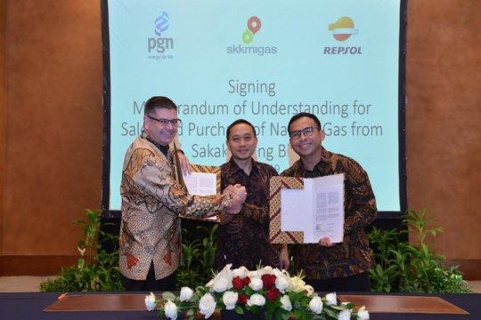 PGN tanda tangani MoU jual beli gas dengan Talisman Sakakemang