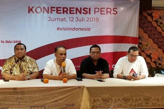 390 organ relawan akan hadiri acara Visi Indonesia di Sentul