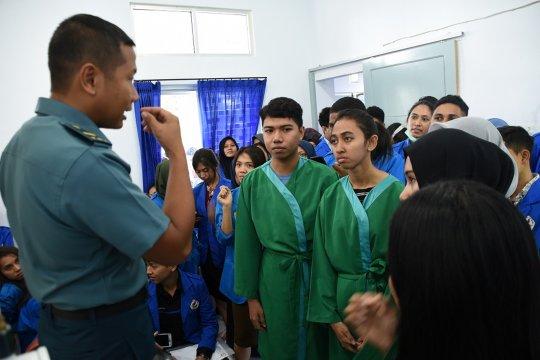 Mahasiswa FK Unpatti belajar terapi hiperbarik dan uitimate