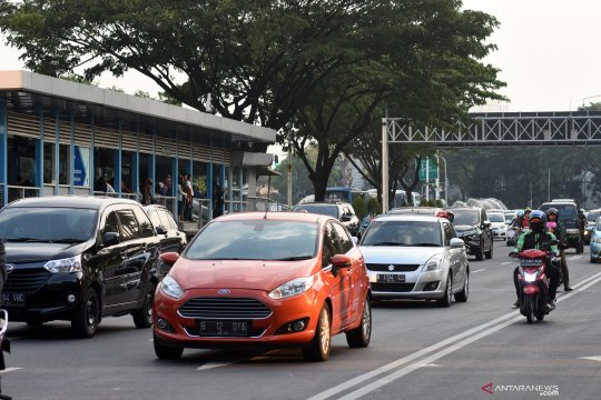 Pemprov DKI Jakarta bahas penerapan ganjil-genap sepeda motor