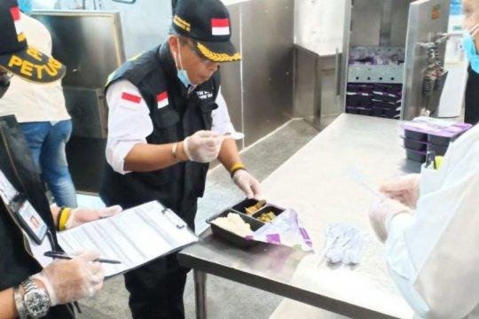 PPIH inspeksi penyedia katering pastikan keamanan makanan jamaah