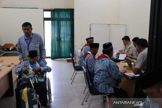 Saat di Asrama Haji Palembang, calhaj Bangka ikuti manasik terakhir