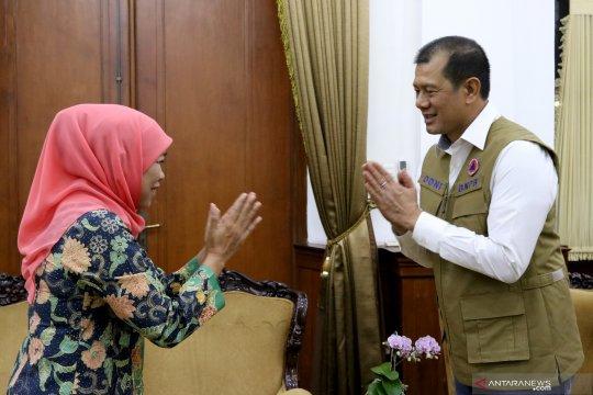 Gubernur Jatim menerima  Kepala  BNPB
