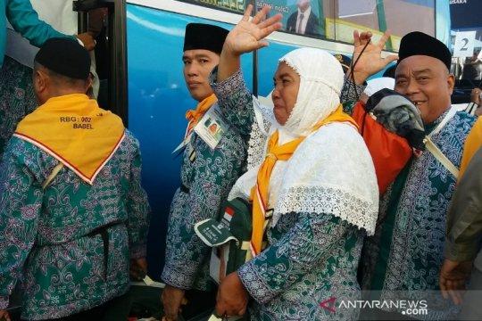 443 calon haji Bangka Belitung dilepas gubernur
