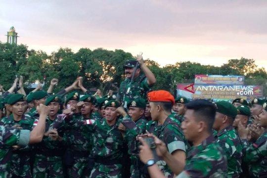 Panglima TNI mengecek kesiapan prajurit jaga perbatasan