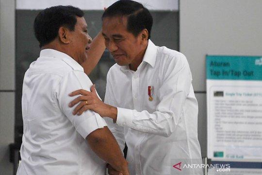 Gerindra: pertemuan Jokowi-Prabowo merupakan pertemuan kebangsaan