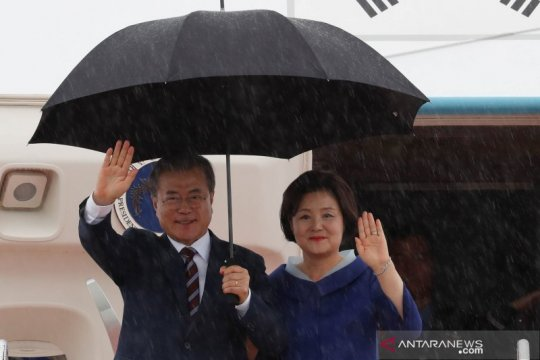 Pompeo berharap untuk bantu selesaikan hubungan Jepang - Korea Selatan