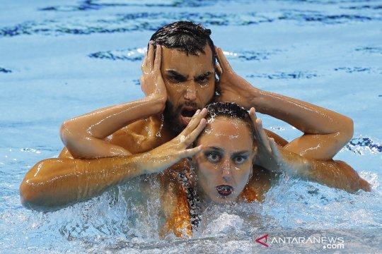 Aksi perenang indah dunia di Kejuaraan Renang Dunia FINA ke-18