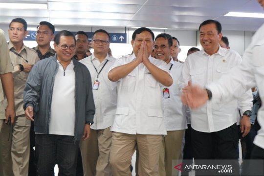 Jokowi dan Prabowo dijadwalkan bertemu di stasiun MRT Lebak Bulus