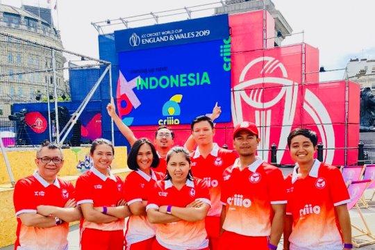 Nama Indonesia bergema di ajang World Cup Cricket London