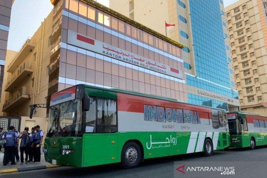 1.300 JCH bergerak dari Madinah ke Mekkah
