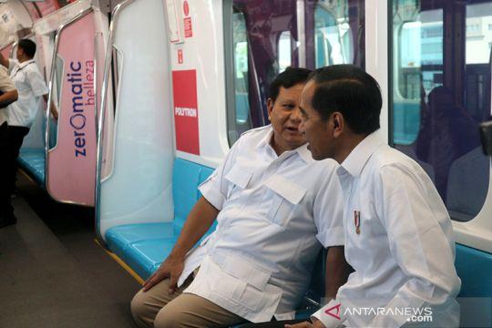 Pertemuan Jokowi-Prabowo di MRT dinilai bawa dampak positif