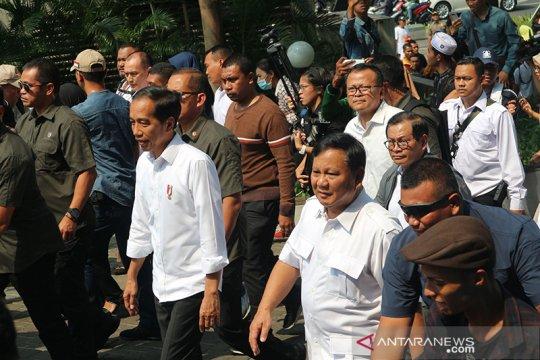 Gerindra: 99,9 persen masyarakat inginkan pertemuan Jokowi-Prabowo