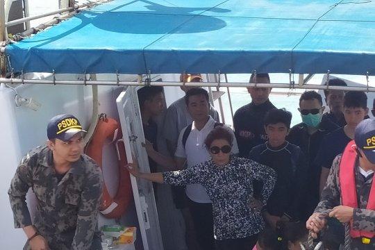 MKP lakukan pelepasliaran bibit lobster di Nusa Penida