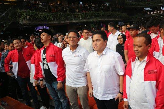 Sandiaga: Pertemuan Jokowi-Prabowo silaturahmi yang penuh keberkahan