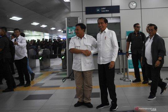 Jokowi-Prabowo: Tidak ada lagi 'cebong-kampret'