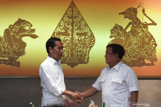 Ansor: Yang tak suka pertemuan Jokowi-Prabowo pasti pihak ketiga