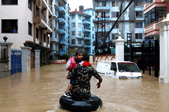Jumlah korban tewas akibat banjir di Nepal naik jadi 47