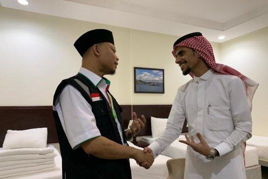 Dua kloter JCH embarkasi Batam laksanakan Miqat di Bir Ali