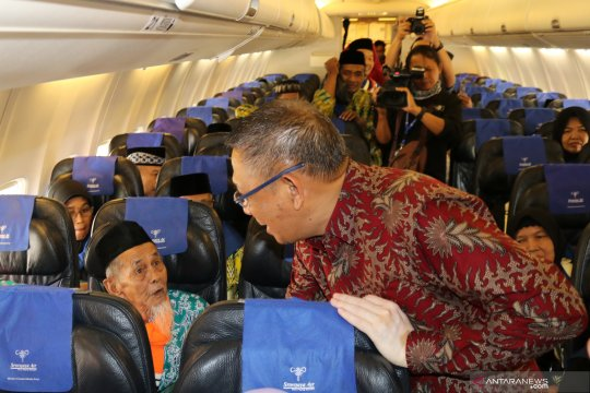 Jamaah haji Kalbar dijadwalkan tiba di Pontianak mulai 28 Agustus