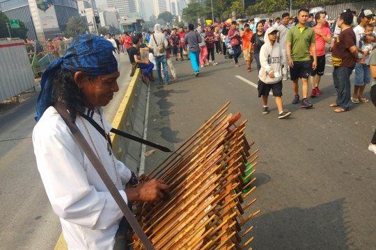 CFD Jakarta, panggung semua kesenian
