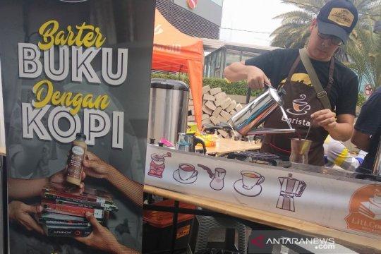 Pustakawan kampanyekan gemar membaca melalui kedai kopi di CFD