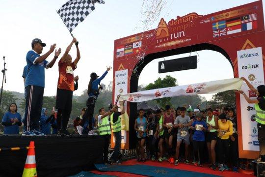 "Pelari 13 negara ikuti lomba wisata olahraga ""Sleman Temple Run 2019"""