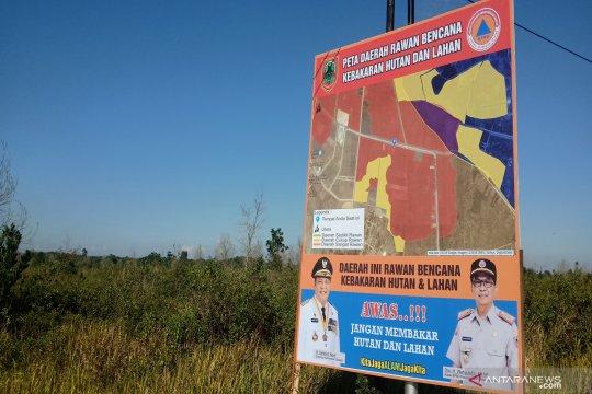 Hotspot di Kalimantan Selatan terpantau 10 titik