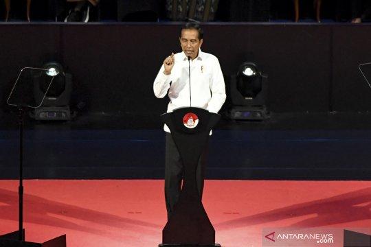 Kemarin, lima janji Jokowi hingga pertemuan Jokowi dan Prabowo