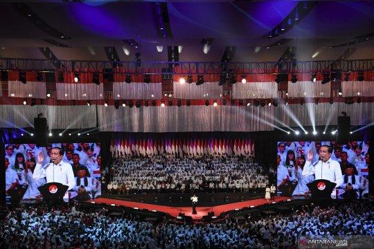Sampaikan Visi Indonesia Jokowi beberkan lima hal