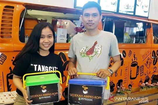 """38 kedai di Kota Tangerang ikut """"Sedekah Ampas Kopi"""""""