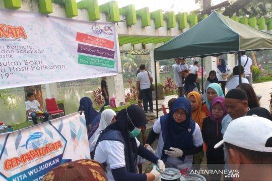 Pelatihan ikan sehat-bermutu digelar Stasiun Karantina Ikan Palembang