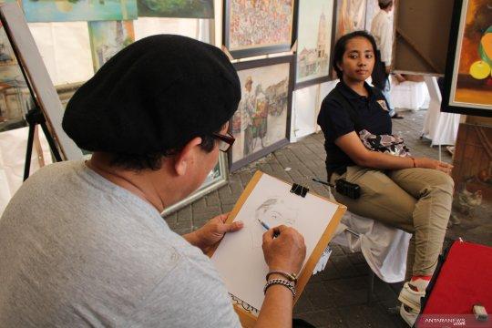 Menjelajahi lorong waktu di Festival Pasar Baru