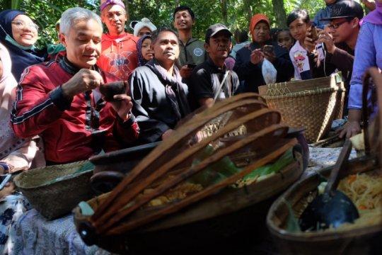 Gubernur Jateng dorong kampung munculkan ekonomi kreatif