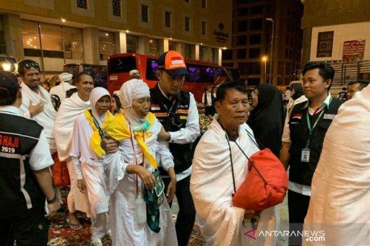 Rombongan pertama calon haji Indonesia tiba di Mekkah