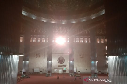 Fenomena matahari di atas Kabah tidak ubah arah kiblat Masjid Istiqlal