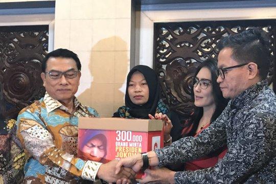 Kemarin, DPR terima surat Baiq hingga JK apresiasi Jokowi-Prabowo