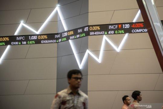 IHSG menguat ditengah turunnya bursa saham Asia