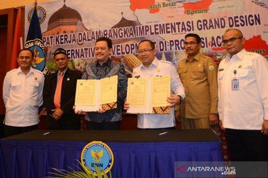 BNN akan replanting belasan hektare ladang ganja di Aceh