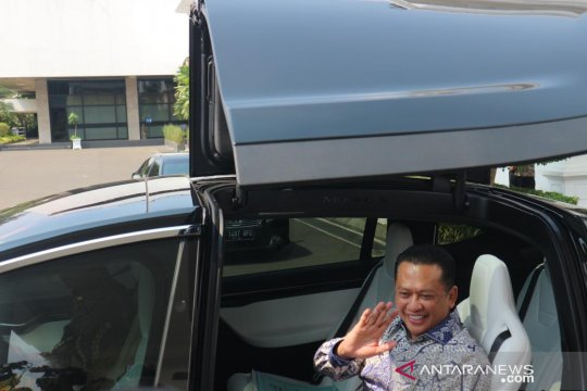 Bambang Soesatyo bertemu Presiden Jokowi