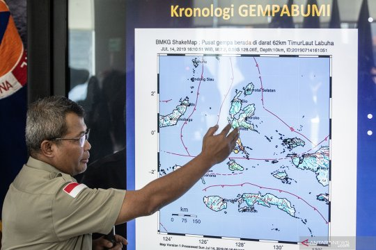 Dampak gempa bumi Halmahera