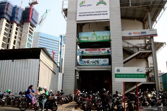 Lahan parkir motor di Pasar Benhil akan ditata