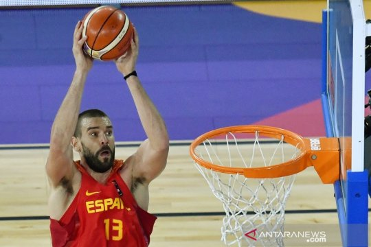 Spanyol rilis nomor punggung sementara, Marc Gasol tetap pakai 13