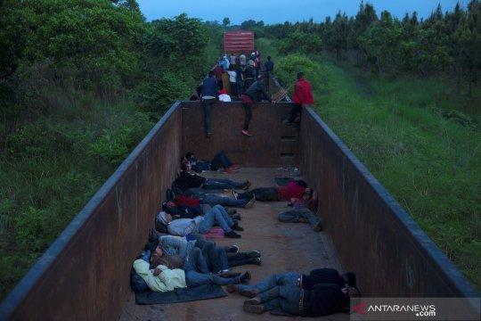 Perjuangan imigran Meksiko masuk Amerika Serikat