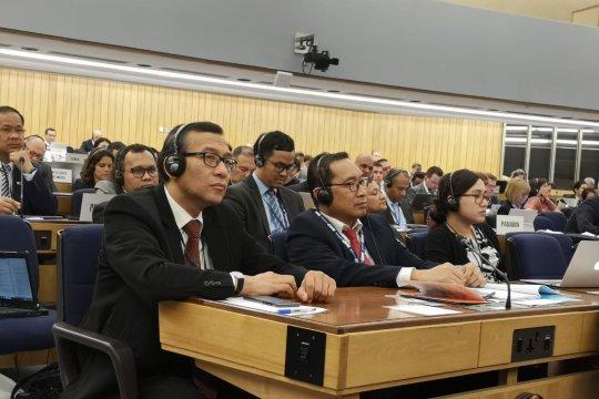 Indonesia tunjukkan peran negara kepulauan terbesar di sidang IMO
