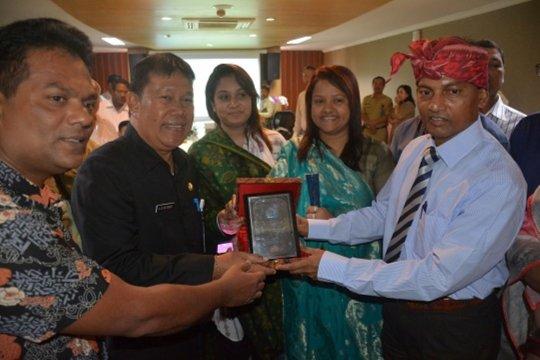 Delegasi Bangladesh kunjungi MPP Kota Denpasar