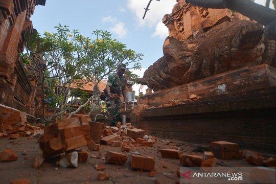 Gempa akibatkan 24 bangunan rusak di Bali